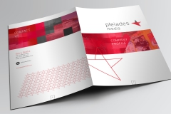 "For higher value properties, important documents or for agents who want to make the best presentation Pocket Folders are a valuable aid in presenting and building YOUR brand.  Capacity Pocket Folder, for holding extra volume. This is achieved with a double score and oversized board.  <p/><p>email: <a href=""mailto:info@designhaus.eu?subject=flickr_enquiry"">info@designhaus.eu</a> 